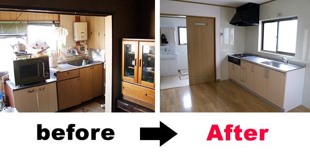 施工例キッチン2