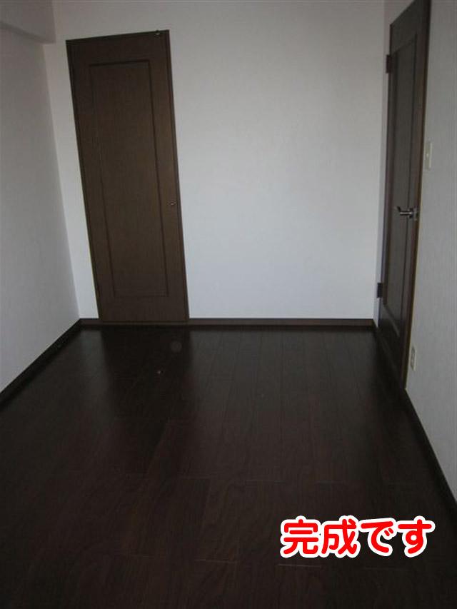 マンション改装中の和室